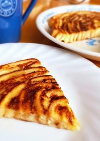 パンの耳で♫ うずまきフレンチトースト