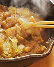 餅入り☆白菜と油揚げの甘辛煮の写真