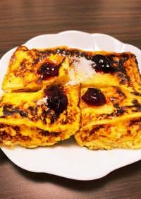 余ったパン粉で簡単!フレンチトースト