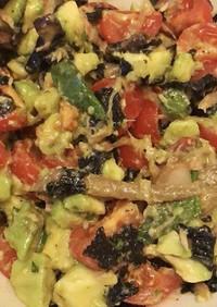 びっくり美味しい!簡単和風アボガドサラダ