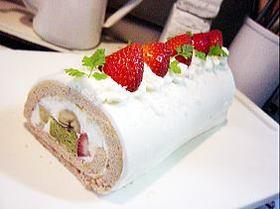 ●華やかに【フルーツモイストケーキ】