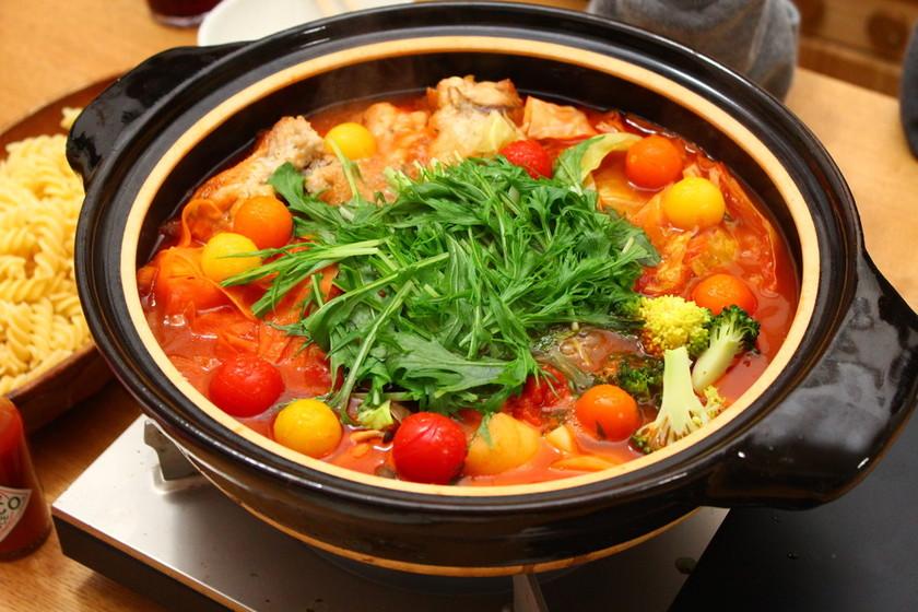 イタリアンなトマト鍋