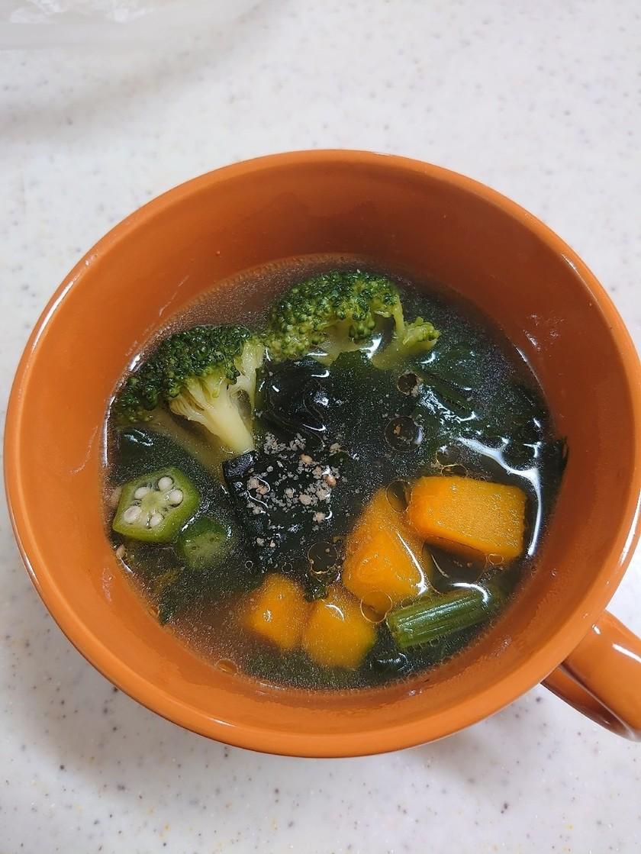 妊活!野菜たっぷりスープ♪