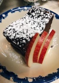 チョコのチーズケーキ