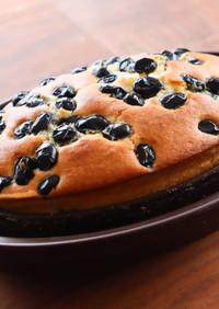 HMで手作りおやつ!ふわふわ黒豆ケーキ