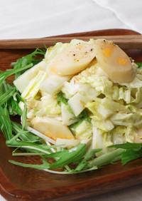 白菜大量消費!チーかまの簡単マヨサラダ