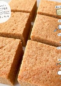 【糖質制限】おからパウダー で蒸しケーキ