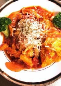 ロールキャベツのトマトスープ煮込み