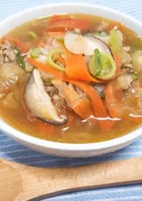 ダイエット&風邪予防!具沢山の中華スープ