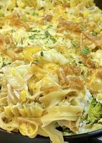ツナとパスタのキャセロール*アメリカ料理
