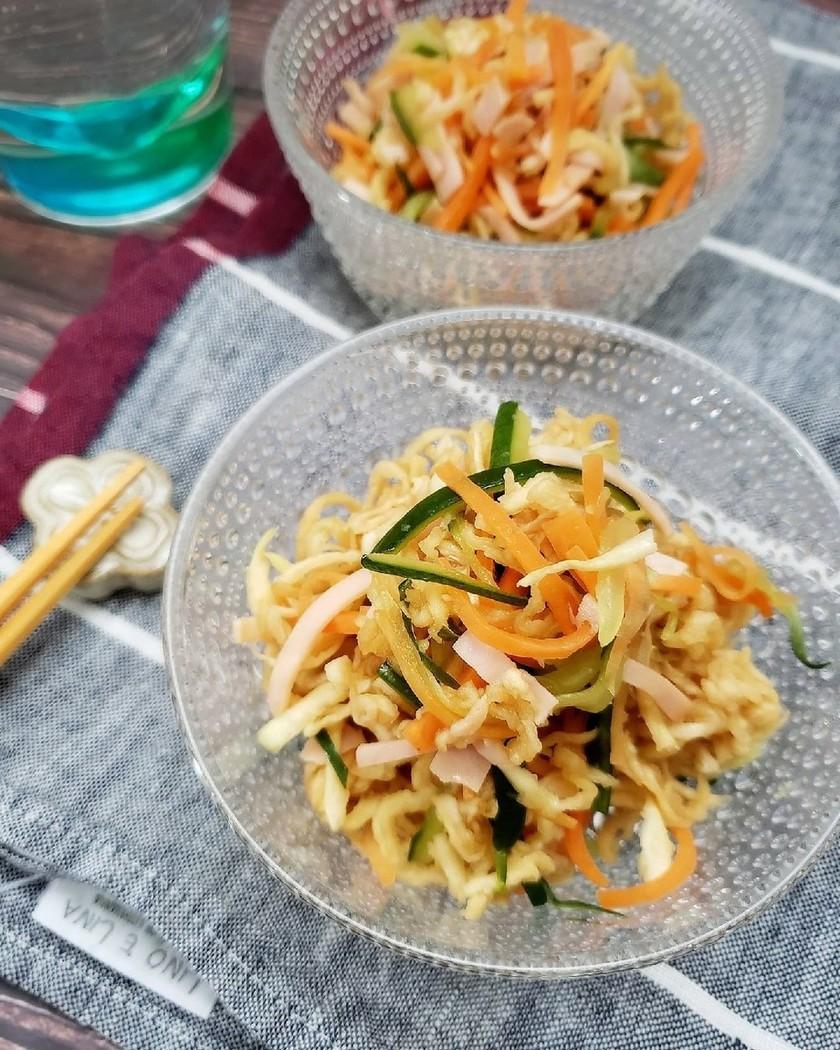 すぐでき副菜♪切り干し大根の中華サラダ