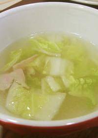 低カリウム・減塩 白菜スープ(腎臓病)