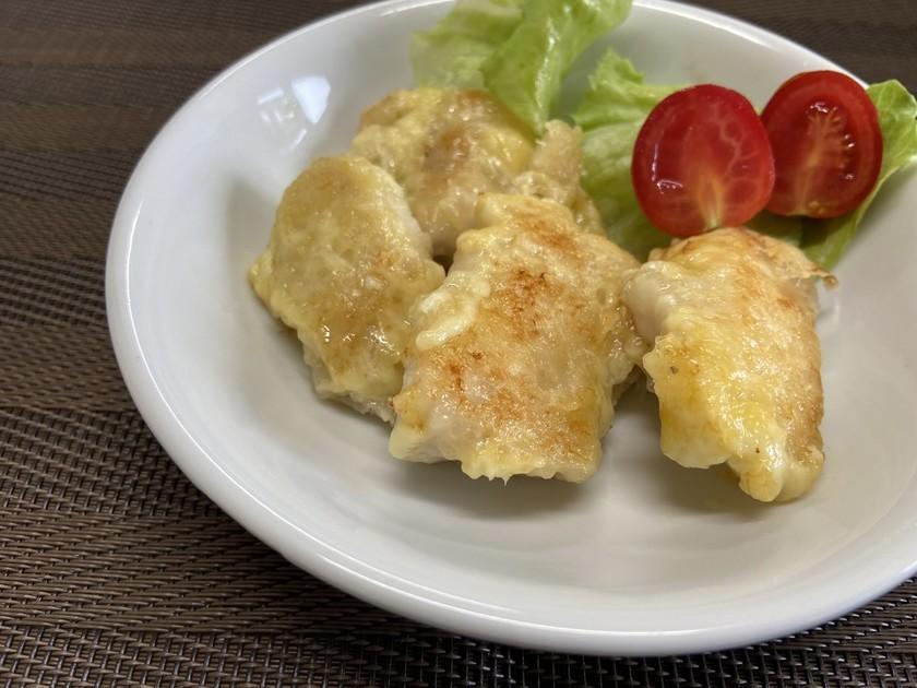 鶏肉のカリカリチーズ焼き