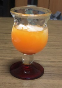 オレンジジュース 簡単!!おいしい!!