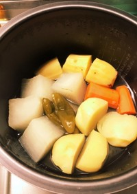 【離乳食】炊飯器で野菜調理(初期〜)