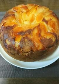 炊飯器でりんごケーキ
