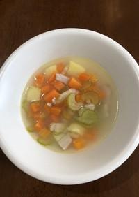 免疫力アップ!肺を潤す冬の温かスープ