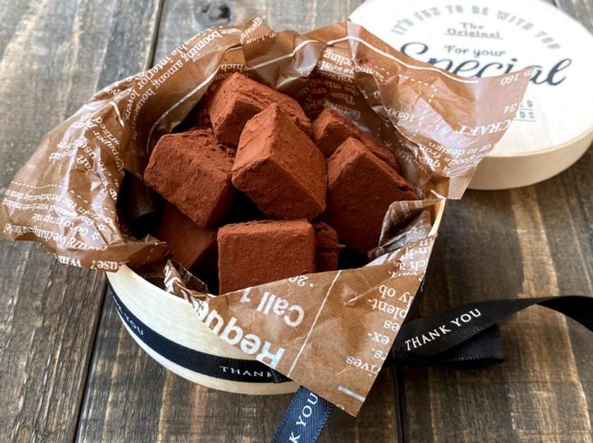 【簡単】板チョコdeお店みたいな生チョコ