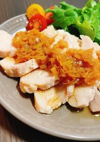 お肉料理に♡レンジで作るネギのソース
