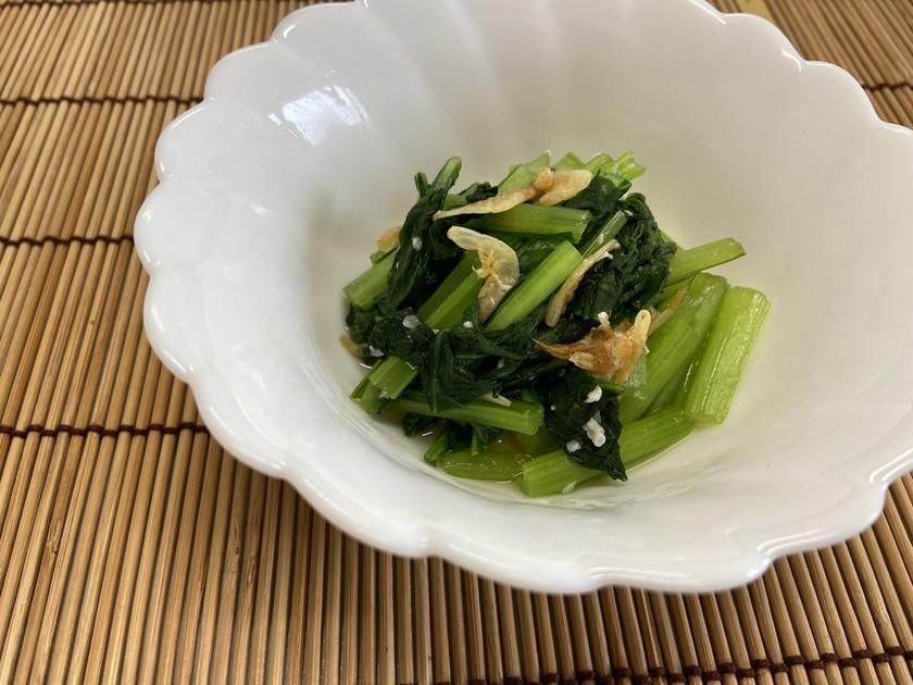 小松菜の塩麴煮びたし