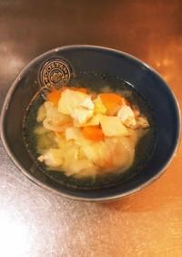 鳥ムネ肉の野菜スープ ダイエット料理