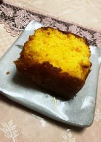 簡単にんじんケーキ