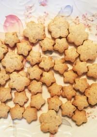 菜種油で作るプレーンクッキー