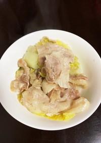 白菜と豚肉のNoミルフィーユ鍋♪
