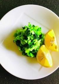 たつえばあばお勧め!小松菜のお漬物♡