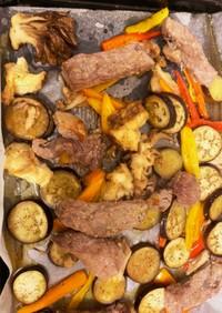 お肉のオーブン焼き