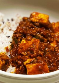 赤味噌と豆板醤の辛旨トマト麻婆豆腐