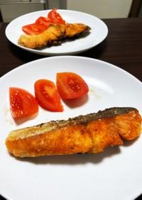 簡単調理!鮭のムニエルバター醤油風味