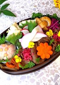あり合わせ 牛丼 新春弁当