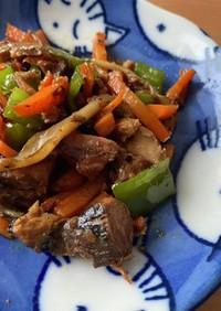 栄養満点!超簡単!鯖缶を使った野菜炒め