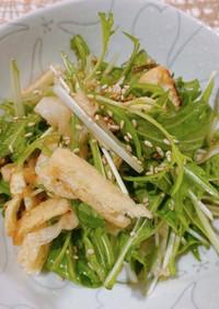 ☆水菜と大根の塩昆布わさび醤油サラダ☆