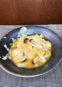 鮭缶と白菜の簡単旨煮