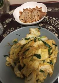 野菜炒め 肉