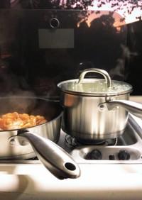 キャンプ飯٩( ᐛ )و簡単BBQチキン