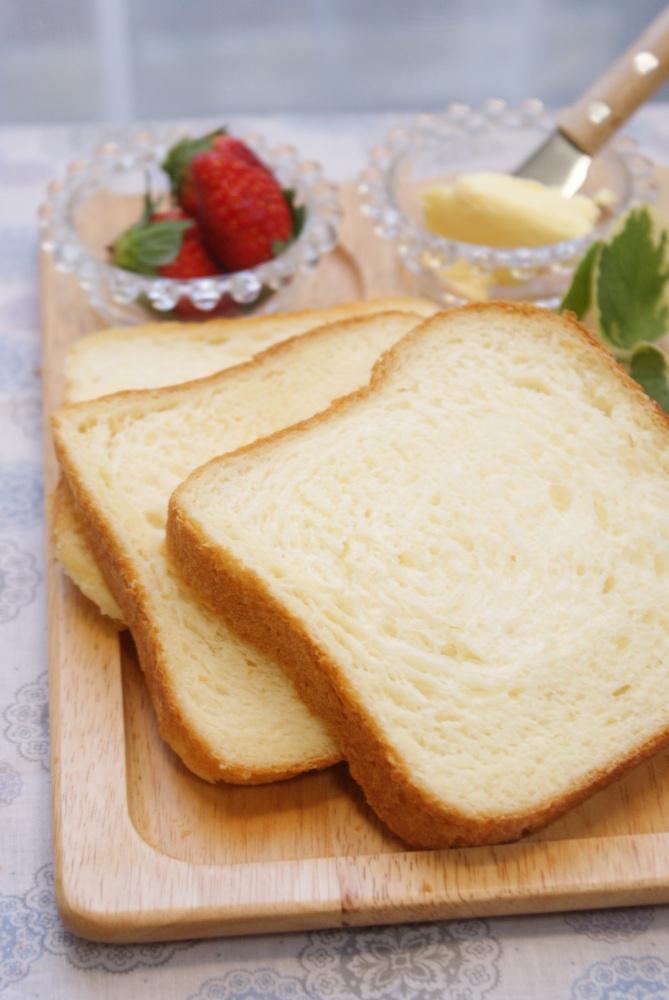 HBで✿Milk食パン