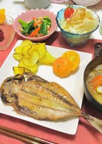 温まる和食の夕飯献立・今日は魚メイン献立