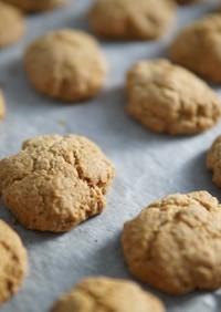 甘さ控えめジンジャースパイスクッキー
