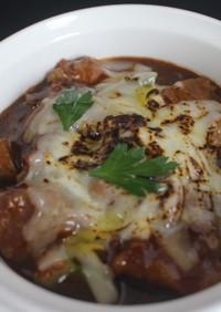 猪肉の彩り野菜の自家製デミグラスソース煮