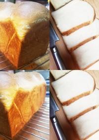 キッチンエイドでデニッシュ風食パン1斤