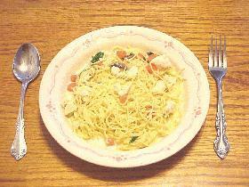 クリームスープスパゲッティ