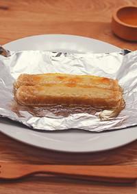 玄米スティックのハニーチーズトースト