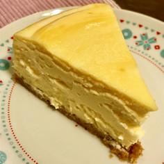 粉なし濃厚チーズケーキ