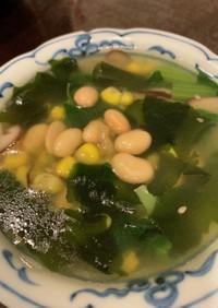 便秘解消!7品目の中華風スープ