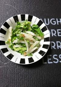 柚子コショウ~でウメ~なパンチサラダ