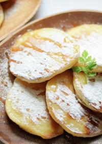 【簡単】薄力粉と豆腐で作るホットケーキ
