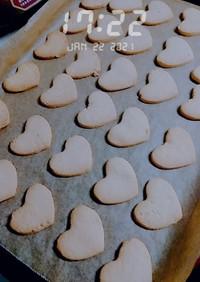 サクサク簡単型抜きクッキー
